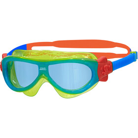 Zoggs Phantom Mask Kids green/blue/tint